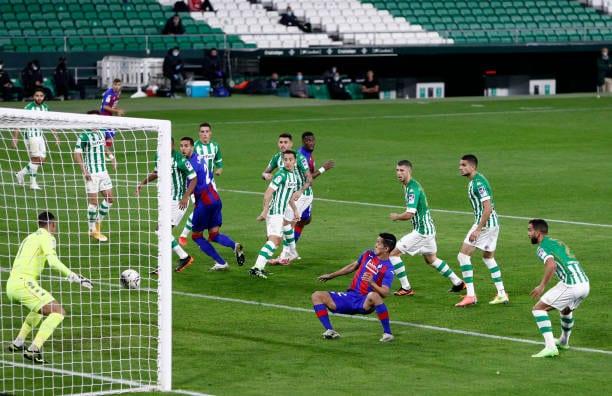 El Real Betis, el equipo más goleado en las últimas cinco ligas