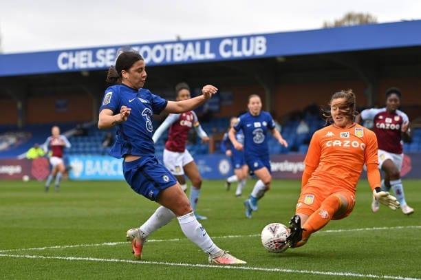 Crónica  Chelsea F 2-0 Aston Villa F: Un mero trámite para el líder