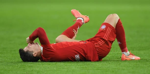 Robert Lewandowski, lesionado durante cuatro semanas