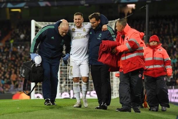 Eden Hazard, otra vez lesionado en la temporada actual