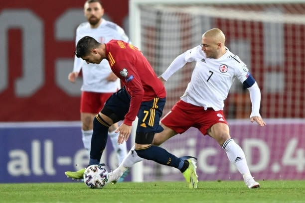 Crónica  Georgia 1-2 España: Una victoria para encarrilar la clasificatoria