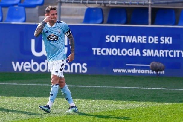 Hugo Mallo, cerca de ser el segundo jugador con más partidos del Celta