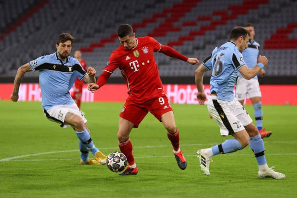 Crónica  Bayern München 2-1 S.S.Lazio: Un trámite para pasar a cuartos