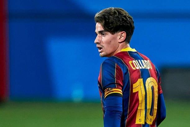 Álex Collado renueva con el FC Barcelona hasta 2023