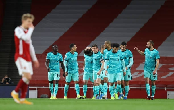 Crónica  Arsenal 0-3 Liverpool: Vendaval