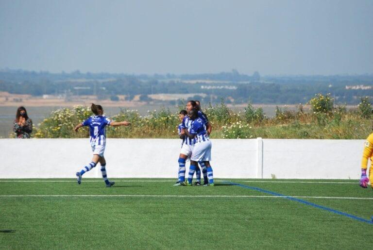 Crónica| Sporting de Huelva 4-2 Sevilla Femenino: El mejor Sporting de 20/21