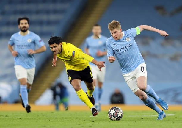 Crónica  M City 2 – 1 Borussia Dortmund: El City se acerca a las semis