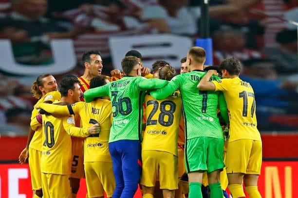El camino hacia el título de Liga para el FC Barcelona