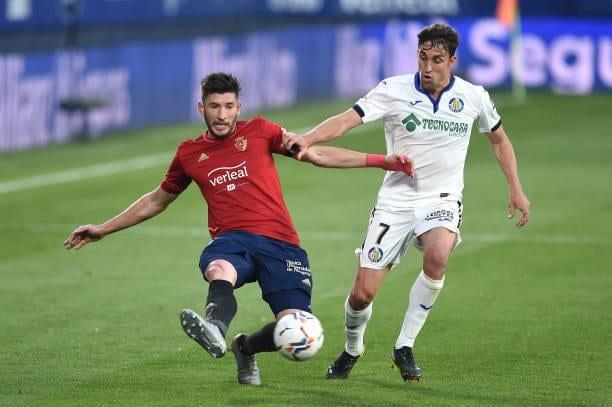 Crónica  Osasuna 0-0 Getafe: Tercer empate consecutivo para ambos