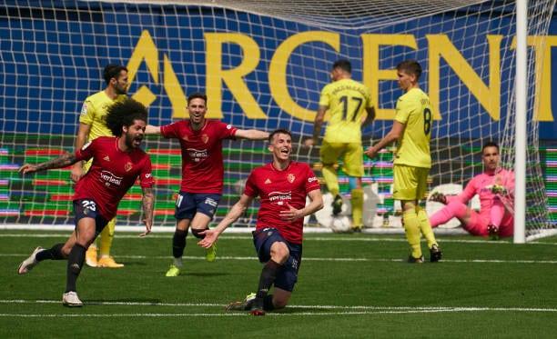 Osasuna finaliza su sequía de goles con una victoria