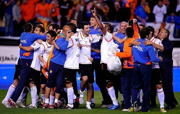 Se cumplen trece años de la séptima Copa del Rey del Valencia