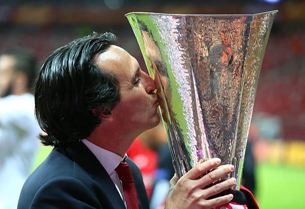 Unai Emery jugará su quinta final de Europa League